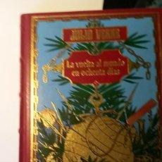 Libros de segunda mano: JULIO VERNE - LA VUELTA AL MUNDO EN 80 DIAS RBA 2002. Lote 133433649