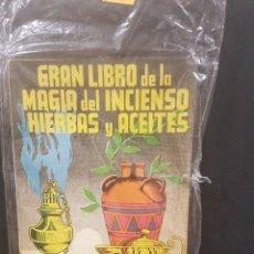 Libros de segunda mano: GRAN LIBRO DE LA MAGIA DEL INCIENSO,HIERBAS Y ACEITES. MAGNUS BRUNOS. Lote 89661052