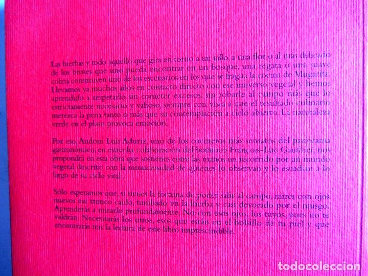 Libros de segunda mano: Diccionario botanico para cocineros. Andoni Luis Aduriz y Francois-Luc Gauthier. - Foto 2 - 89661080