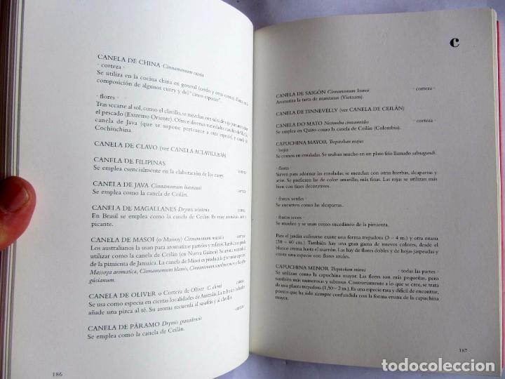 Libros de segunda mano: Diccionario botanico para cocineros. Andoni Luis Aduriz y Francois-Luc Gauthier. - Foto 5 - 89661080