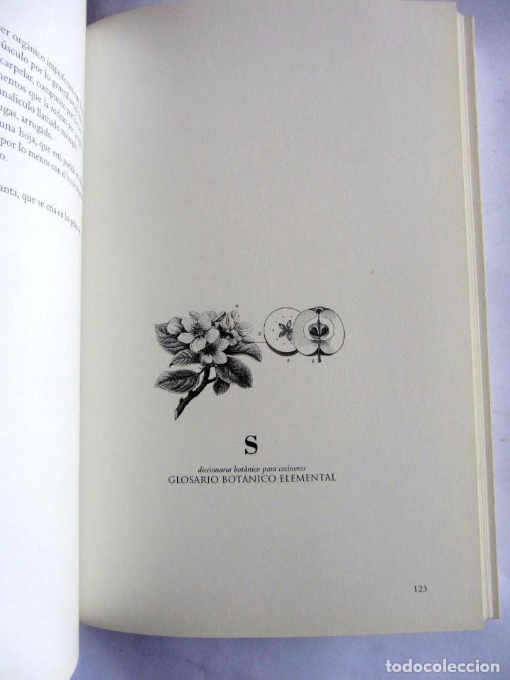 Libros de segunda mano: Diccionario botanico para cocineros. Andoni Luis Aduriz y Francois-Luc Gauthier. - Foto 7 - 89661080