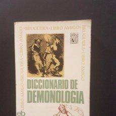 Libros de segunda mano: DICCIONARIO DE DEMONOLOGIA,DR.FREDERIK KONING.. Lote 89663328
