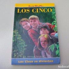 Libros de segunda mano: LOS CINCO SE DIVIERTEN. ENID BLYTON. EDITORIAL JUVENTUD. 1999. Lote 89725968