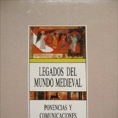 Libros de segunda mano: VALDEON BARUQUE, JULIO (ET AL.). LEGADOS DEL MUNDO MEDIEVAL PARA LA SOCIEDAD ACTUAL. 1987.. Lote 89730548