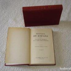 Libros de segunda mano: HISTORIA DE ESPAÑA Y DE LAS CIVILIZACIÓN ESPAÑOLA EN LA EDAD CONTEMPORÁNEA (2 TOMOS) - ZABALA Y LERA. Lote 89764316