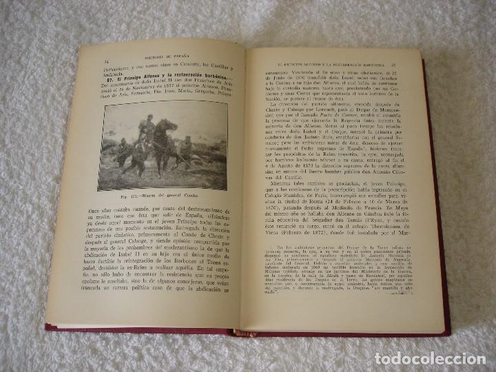 Libros de segunda mano: HISTORIA DE ESPAÑA Y DE LAS CIVILIZACIÓN ESPAÑOLA EN LA EDAD CONTEMPORÁNEA (2 TOMOS) - ZABALA Y LERA - Foto 8 - 89764316
