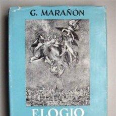 Libros de segunda mano: ELOGIO Y NOSTALGIA DE TOLEDO. GREGORIO MARAÑÓN. ESPASA CALPE 1966. Lote 89791628