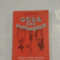 Libros de segunda mano: GUIA DEL PARANOICO. DENNIS DICLAUDIO. CUPULA HUMOR. TDK3. Lote 89812780