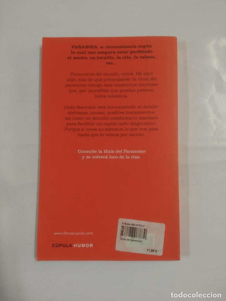 Libros de segunda mano: GUIA DEL PARANOICO. DENNIS DICLAUDIO. CUPULA HUMOR. TDK3 - Foto 2 - 89812780
