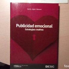 Libros de segunda mano: PUBLICIDAD EMOCIONAL. Lote 90112440