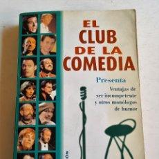 Libros de segunda mano: EL CLUB DE LA COMEDIA 282 PAGINAS 11 X 18 CM. Lote 90127508