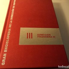 Libros de segunda mano: ENCICLOPEDIA DE LA DIRECCION DE EMPRESAS. Lote 90244192