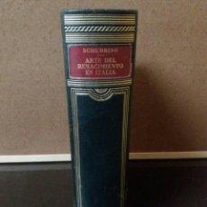Libros de segunda mano: HISTORIA DEL ARTE LABOR TOMO IX, ARTE DEL RENACIMIENTO EN ITALIA. Lote 90311543