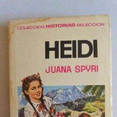 Libros de segunda mano: HEIDI JUANA SPYRI. Lote 90428429