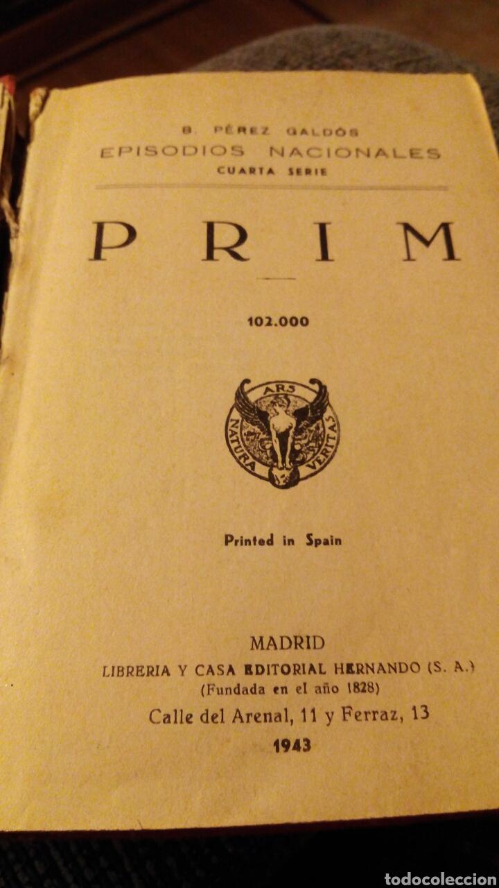 PEREZ GALDOS, EPISODIOS NACIONALES 1943 (Libros de Segunda Mano (posteriores a 1936) - Literatura - Otros)