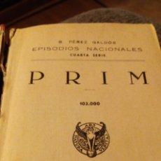 Libros de segunda mano: PEREZ GALDOS, EPISODIOS NACIONALES 1943. Lote 90483398