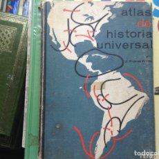 Libros de segunda mano: ATLAS DE HISTORIA UNIVERSAL. Lote 90510642