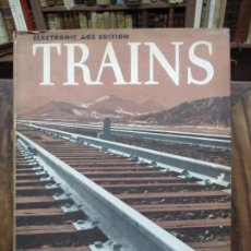 Libros de segunda mano: TRAINS. ROBERT SELPH HENRY. 1957. PROFUSAMENTE ILUSTRADO. EDICIÓN EN INGLÉS.. Lote 90522030
