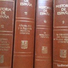 Libros de segunda mano: HISTORIA DE ESPAÑA. PLANETA. 12 TOMOS. Lote 90637308
