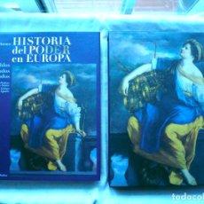 Libros de segunda mano: HISTORIA DEL PODER EN EUROPA, WIM BLOCKMANS. EDICIÓN DE LUJO EN CAJA. Lote 90681990