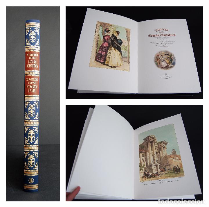 VIAJEROS POR LA ESPAÑA ROMÁNTICA. ILUSTRACIONES DE : VILLAMIL, DAVID ROBERTS, LEWIS... (Libros de Segunda Mano - Historia - Otros)