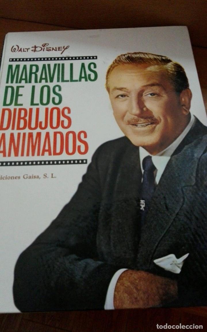 C62 EDICIONES GAISA MARAVILLAS DE LOS DIBUJOS ANIMADOS WALT DISNEY (Libros de Segunda Mano - Literatura Infantil y Juvenil - Otros)