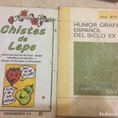 Libros de segunda mano: LOTE DE LIBROS DE CHISTES-HUMOR. Lote 90888755