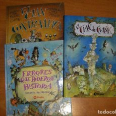 Libros de segunda mano: LOTE TRES LIBROS INFANTILES. MOULD. Lote 90920570