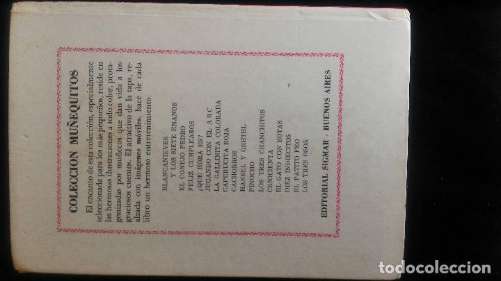 Libros de segunda mano: JUGANDO CON EL ABC - COLECCION MUÑEQUITOS SIGMAR - ARGENTINA - 1969 - RARO - Foto 4 - 90926770