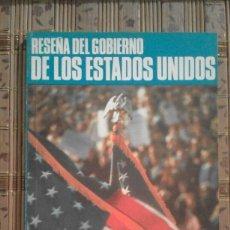 Libros de segunda mano: RESEÑA DEL GOBIERNO DE LOS ESTADOS UNIDOS - RICHARD C. SCHROEDER. Lote 90986025