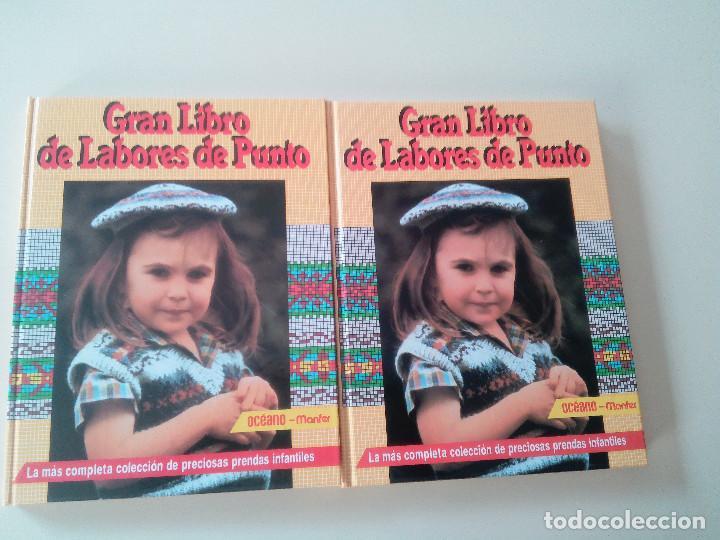 Libros de segunda mano: GRAN LIBRO DE LABORES DE PUNTO-4 TOMOS-COMPLETA-EDITA MANFER ED.-1986-TAPA DURA-ESTUCHE - Foto 4 - 90999000