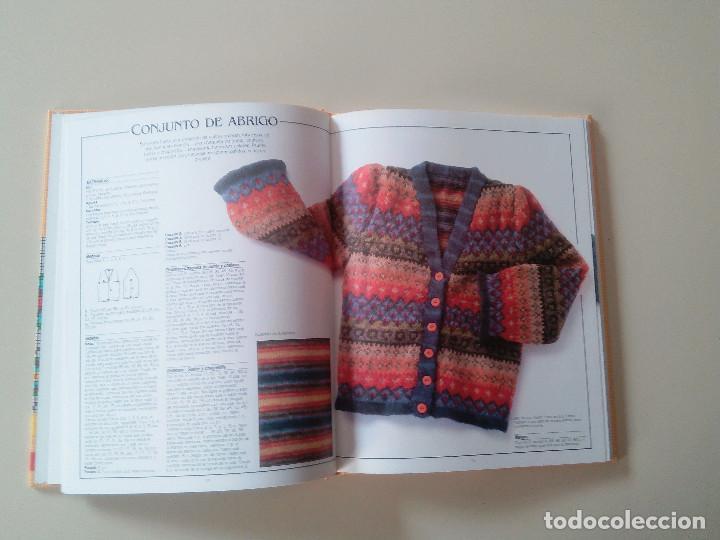 Libros de segunda mano: GRAN LIBRO DE LABORES DE PUNTO-4 TOMOS-COMPLETA-EDITA MANFER ED.-1986-TAPA DURA-ESTUCHE - Foto 6 - 90999000