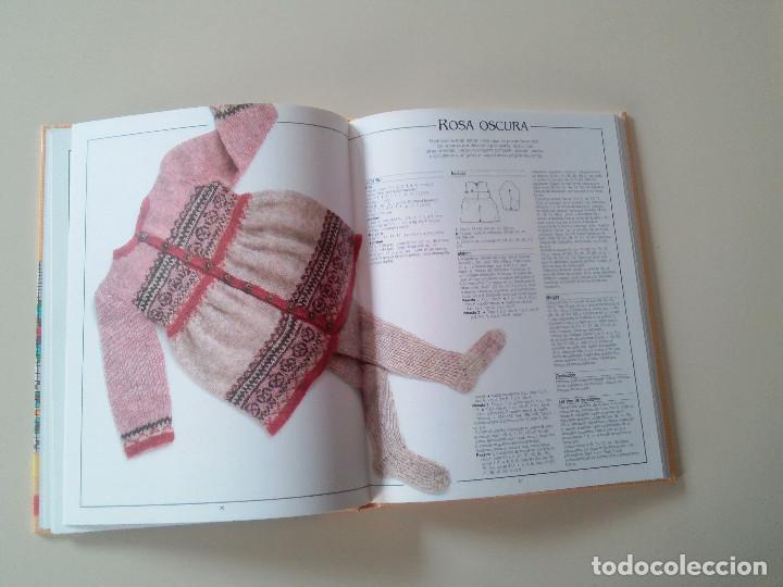 Libros de segunda mano: GRAN LIBRO DE LABORES DE PUNTO-4 TOMOS-COMPLETA-EDITA MANFER ED.-1986-TAPA DURA-ESTUCHE - Foto 7 - 90999000