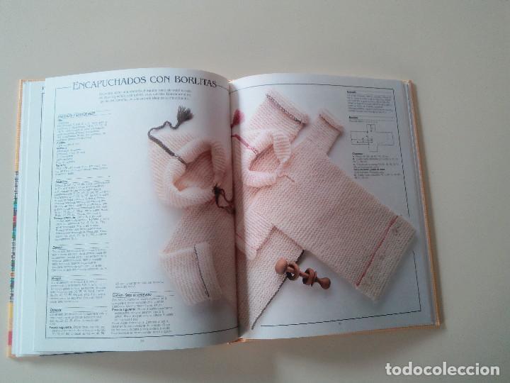 Libros de segunda mano: GRAN LIBRO DE LABORES DE PUNTO-4 TOMOS-COMPLETA-EDITA MANFER ED.-1986-TAPA DURA-ESTUCHE - Foto 8 - 90999000