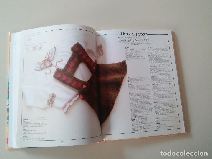 Libros de segunda mano: GRAN LIBRO DE LABORES DE PUNTO-4 TOMOS-COMPLETA-EDITA MANFER ED.-1986-TAPA DURA-ESTUCHE - Foto 11 - 90999000