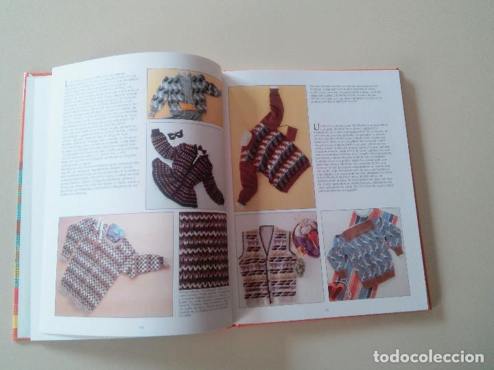 Libros de segunda mano: GRAN LIBRO DE LABORES DE PUNTO-4 TOMOS-COMPLETA-EDITA MANFER ED.-1986-TAPA DURA-ESTUCHE - Foto 15 - 90999000