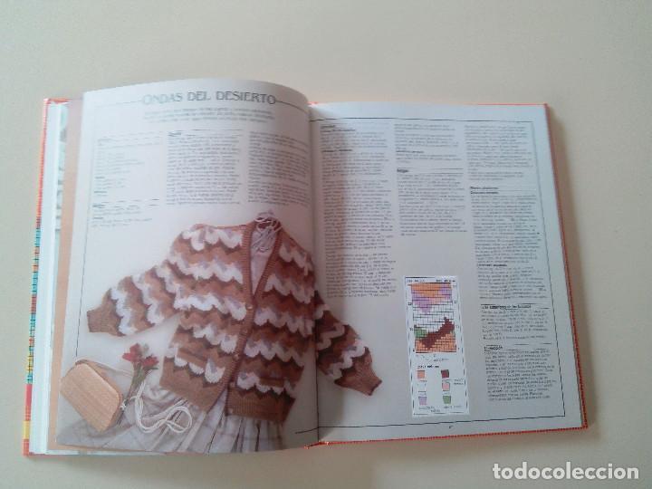 Libros de segunda mano: GRAN LIBRO DE LABORES DE PUNTO-4 TOMOS-COMPLETA-EDITA MANFER ED.-1986-TAPA DURA-ESTUCHE - Foto 17 - 90999000