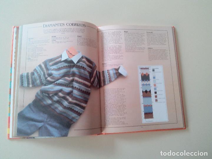 Libros de segunda mano: GRAN LIBRO DE LABORES DE PUNTO-4 TOMOS-COMPLETA-EDITA MANFER ED.-1986-TAPA DURA-ESTUCHE - Foto 19 - 90999000