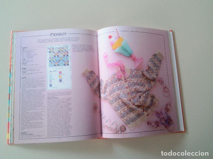 Libros de segunda mano: GRAN LIBRO DE LABORES DE PUNTO-4 TOMOS-COMPLETA-EDITA MANFER ED.-1986-TAPA DURA-ESTUCHE - Foto 21 - 90999000