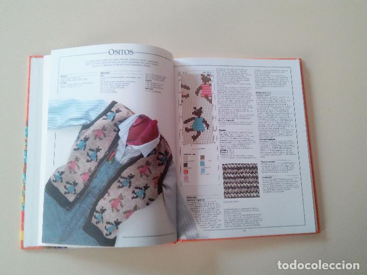 Libros de segunda mano: GRAN LIBRO DE LABORES DE PUNTO-4 TOMOS-COMPLETA-EDITA MANFER ED.-1986-TAPA DURA-ESTUCHE - Foto 22 - 90999000