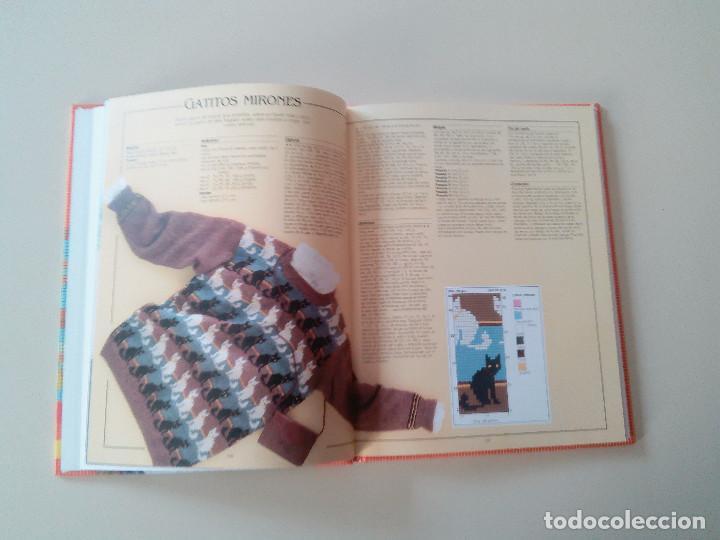 Libros de segunda mano: GRAN LIBRO DE LABORES DE PUNTO-4 TOMOS-COMPLETA-EDITA MANFER ED.-1986-TAPA DURA-ESTUCHE - Foto 23 - 90999000