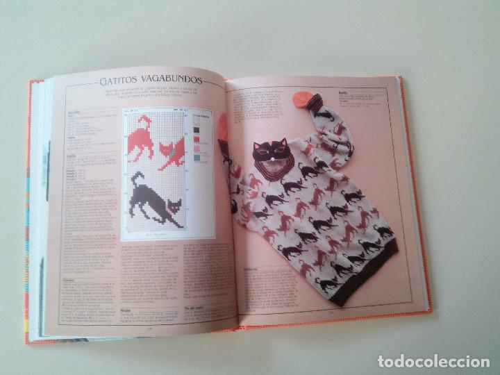 Libros de segunda mano: GRAN LIBRO DE LABORES DE PUNTO-4 TOMOS-COMPLETA-EDITA MANFER ED.-1986-TAPA DURA-ESTUCHE - Foto 24 - 90999000