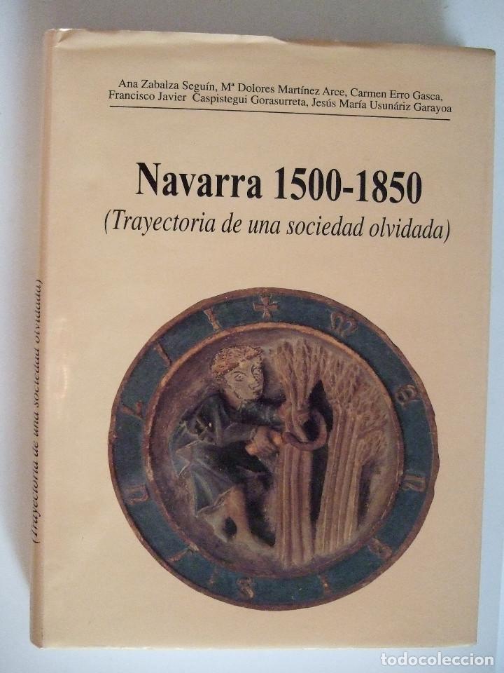 NAVARRA 1500-1850 - TRAYECTORIA DE UNA SOCIEDAD OLVIDADA - 223 PAGINAS-TAPAS DURAS CON SOBRECUBIERTA (Libros de Segunda Mano - Historia - Otros)