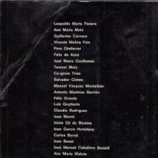 Libros de segunda mano: FEDERICO CAMPBELL. INFAME TURBA. BARCELONA, 1971.. Lote 91001765