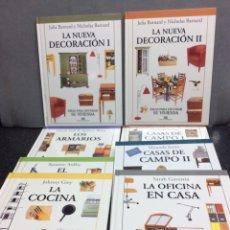 Livres d'occasion: IDEAS PARA DECORAR TU VIVIENDA, OBRA EN 12 TOMOS , OFERTA. Lote 39789354