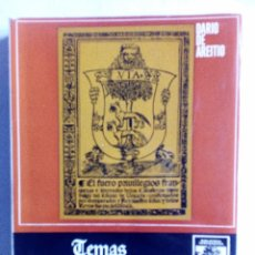 Libros de segunda mano: TEMAS HISTÓRICOS VASCOS DARÍO DE AREITIO BIBLIOTECA VASCONGADA VILLAR 1969. Lote 91132145