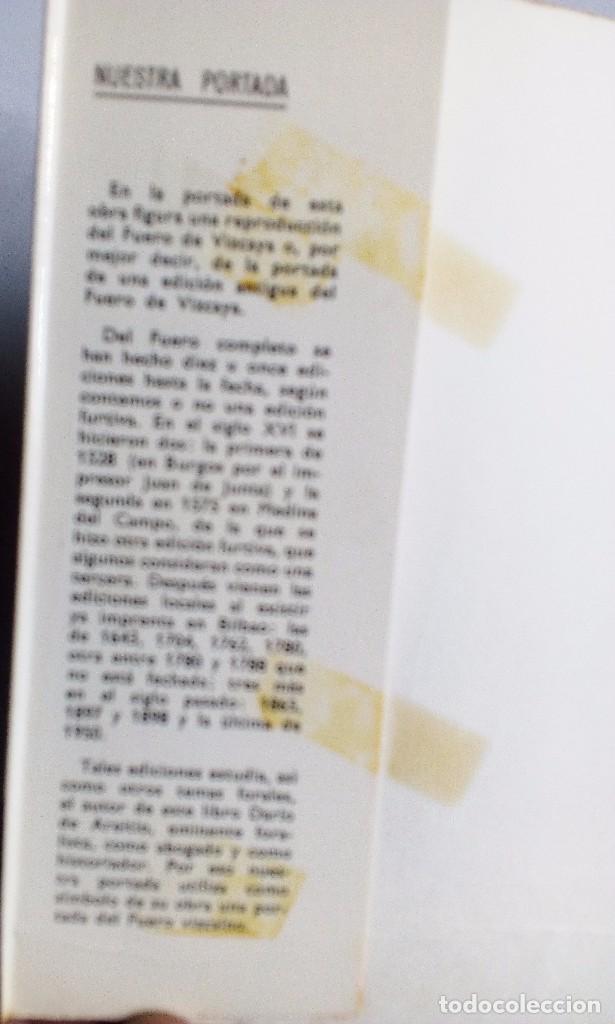 Libros de segunda mano: TEMAS HISTÓRICOS VASCOS DARÍO DE AREITIO BIBLIOTECA VASCONGADA VILLAR 1969 - Foto 4 - 91132145