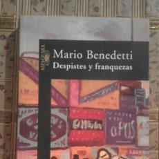 Libros de segunda mano: DESPISTES Y FRANQUEZAS - MARIO BENEDETTI. Lote 91168680