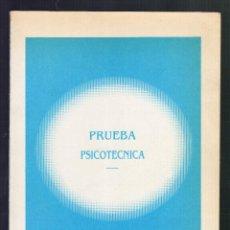 Libros de segunda mano: PRUEBA PSICOTÉCNICA: TESTS - ADAMS, 1986 - (174 PÁGINAS) · MEDIDAS: 25 X 18 CM.. Lote 91228265