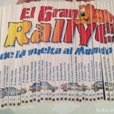 Libros de segunda mano: LIBRO,EL GRAN RALLYE DE LA VUELTA AL MUNDO, COMPLETA 35 LIBROS, MULTILIBRO,S.A.1988. Lote 91236490